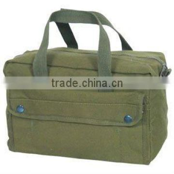 canvas military tool bag