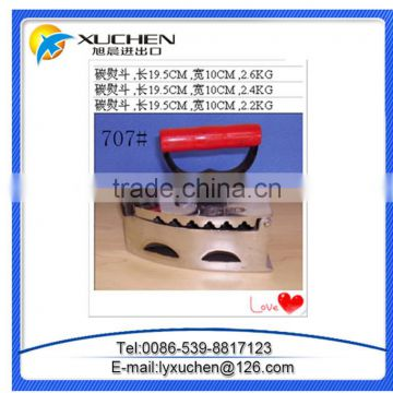 No 752 cock brand charcoal iron made in linyi factory