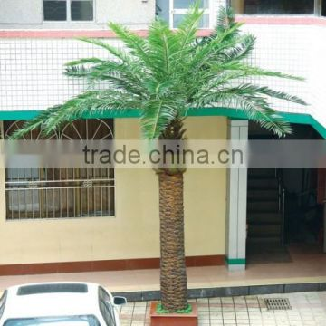 artificial decorative painting palm tree bark