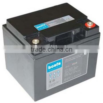 2 pcs battery in series rechargeable lead acid battery 12v 45ah