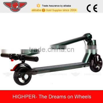Adult use Folding Alloy 250W 2 Wheels Li-ion standing Electric Scooter