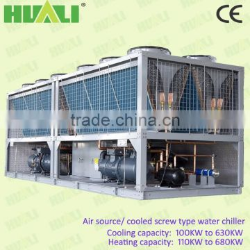 5 Tons Industrial Air Cooled Water Chillers Packaged type