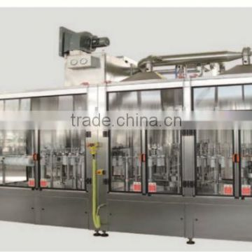 Auto bottled water filling and capping machine