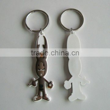 2D or 3D soft pvc keychain