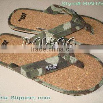 Army style eva slippers