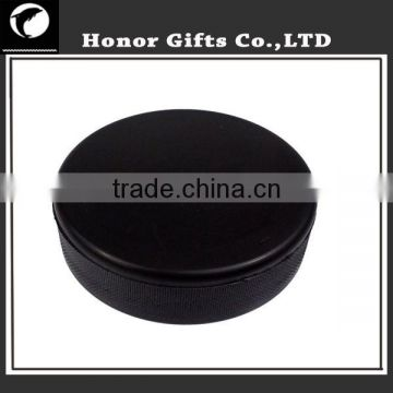 Rubber Custom Logo Printing Ice Hockey Puck