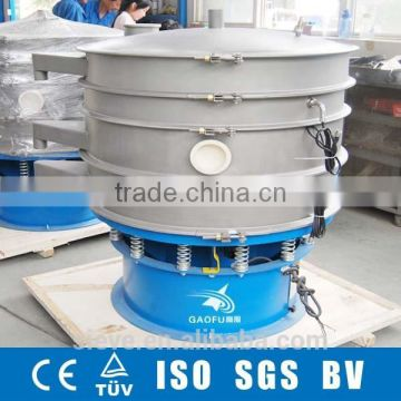 Round vibrosieve for chemical granule and powder