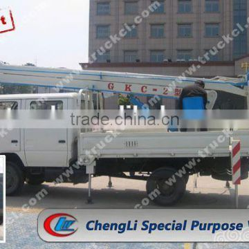 16 m high altitude operation truck for sale, 16 m bucket booming truck for sale, 16 m overhead working truck for sale
