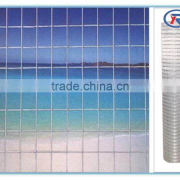 low price 1/2 ,1/4 inch hot dipped galvanized welded wire mesh made in china