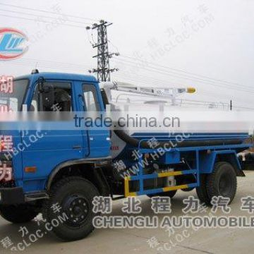 fecal tanker truck with 5m3
