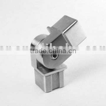 SS/Stainless steel Adjustable square tube elbow