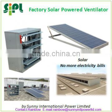Vent tool 300W 36V Large Scale Innovative Wall Mounted Industrial Negative Pressure Solar Air Exhaust Fan