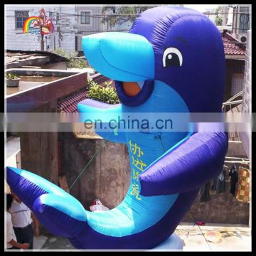 advertisement inflatable fish cartoon , inflatable fish model , inflatable fish shape for sale