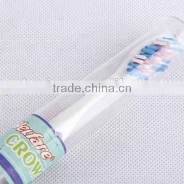 New design toothbrush with plastic case