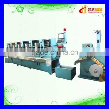 CH-320 High speed self adhesive label printing Usage rotary label printing machine