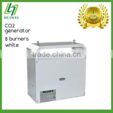 CO2 Generator White 8 Burners Liquefied Petroleum Gas