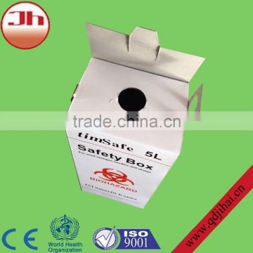 alibaba website medical recycle disposables corrugated medical carton box