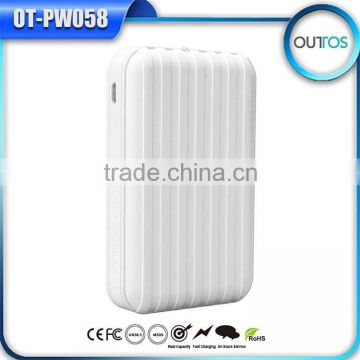 travel suitcase 10000mah power bank portable cellphone charger