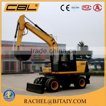 New Condition and CE ISO TUV Certification 8.5t wheel excavator