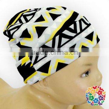 New fancy designs winter stretchy beanie hat toddler baby cotton beanie