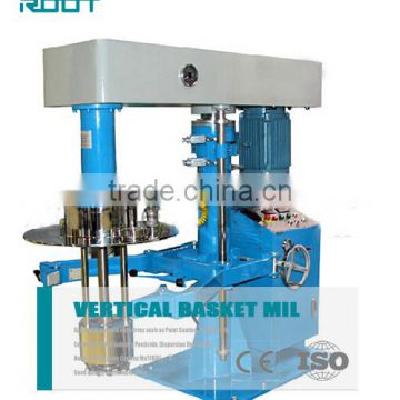 20HP basket mill for printing ink with hydraulic power pack