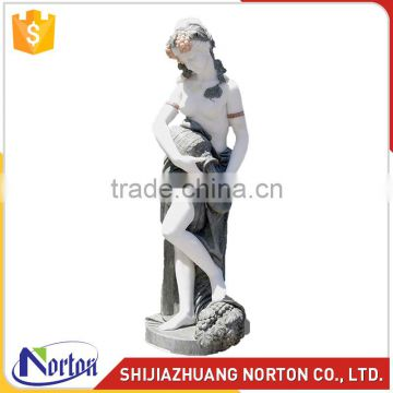 Design made beautiful landscape lady stone statues NTMS-039Y