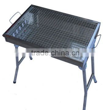 HZA-J8803 Outdoor picnic stainless steel charcoal grill