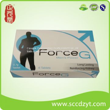 8 years hot sell Force G make love tablets