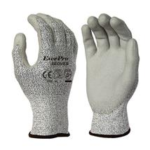 Cut Resistant Level 5 HPPE Liner PU Coated Anti Cut Gloves With EN388 4543C