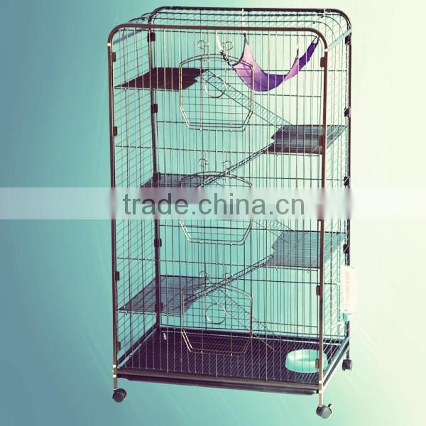 nice foldable metal cat cage