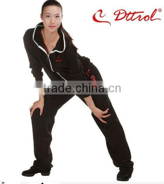 D004936&D005041 Wholesale sports clothing fitted tracksuit women