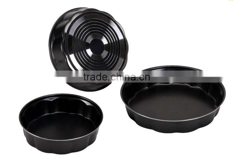 Baking aluminum tray non-stick cake mould new style cheap fry pan