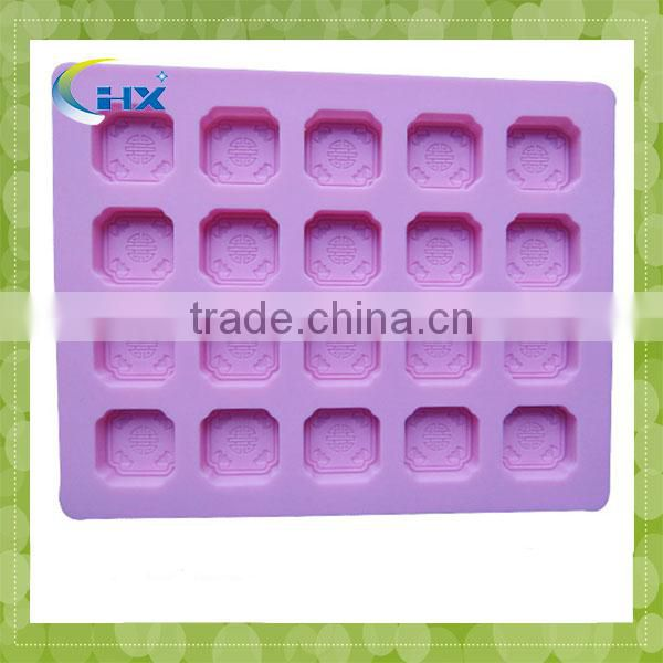 Promotional Non-toxic Impermeable Drinking Cup Shape Silicone Ice Cube Tray
