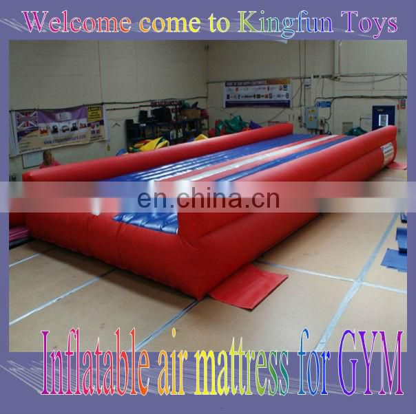 GYM Inflatable tumble track