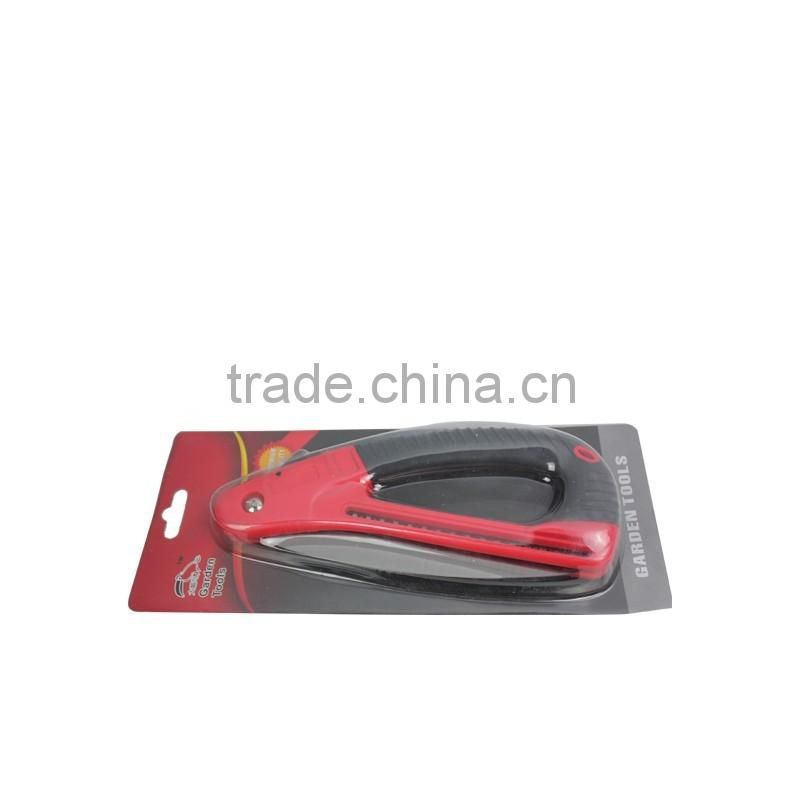 High quality folding saw with ABS+TPR handle garden saw hand tool Model: C-4017B