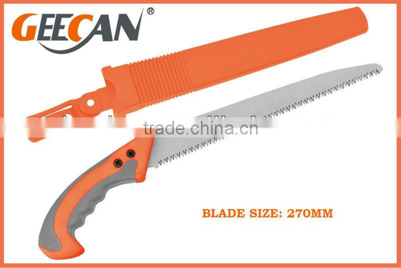 270mm hand saw tree cutting band saw sheath