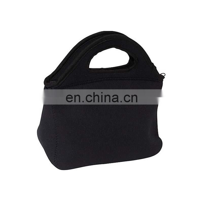Small black breast milk cooler bag
