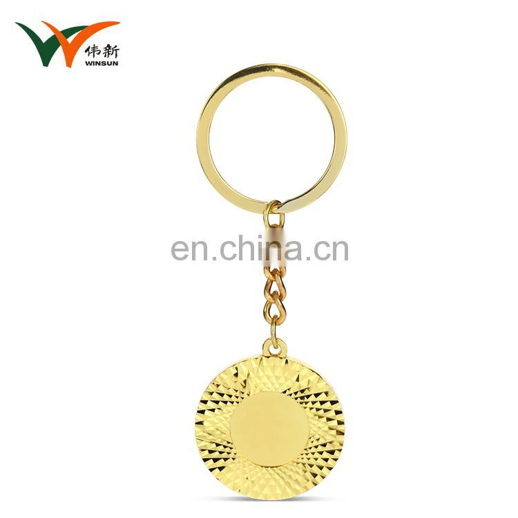 Wholesale alibaba multi-color keyring souvenir keychain