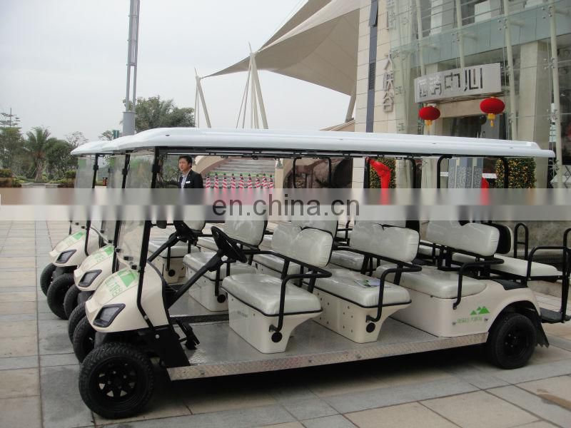 Electric 8 Seater golf cart | Sightseeing car | Annual Best seller in Southeastern Asia market | with CE certificate