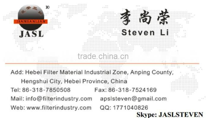 Oil bath air filter mesh material