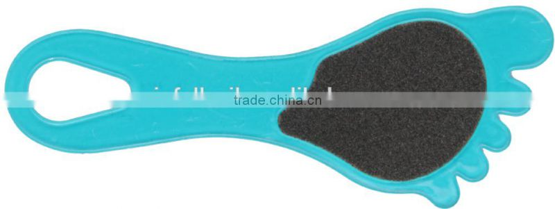 Sandpaper file with foot shape,foot smoother,pedicure foot file