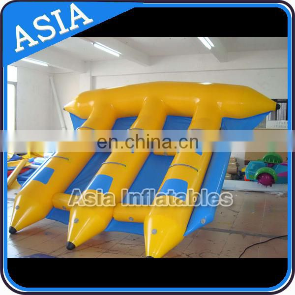 Water Sports Equipment Inflatable Towable Flying Fish Boat With CE