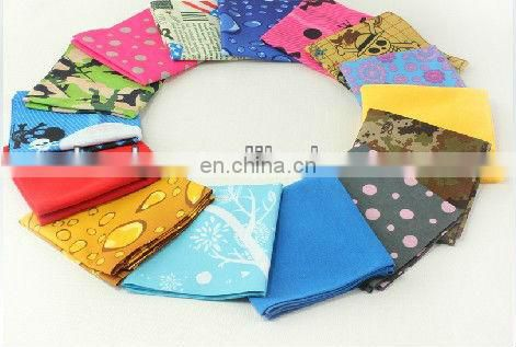 LSB193 Flower design fancy scarf polyester hot sale printed Multifunctional Seamless Headwear Bandana