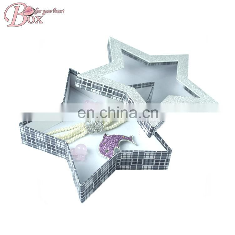 High Quality Handmade Pretty Star Shaped Gift Boxes with Magnetic Lids
