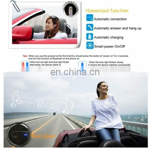 Multi 3 in 1 Headset Car Charger with Aromatherapy Air Purifier