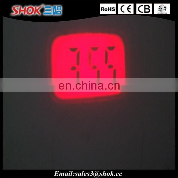 Factory price projector time alarm clock key ring wholesale