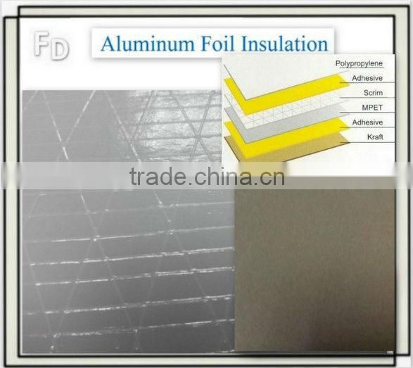 fiberglass reinforced aluminum pipe insulation foil tape fabric