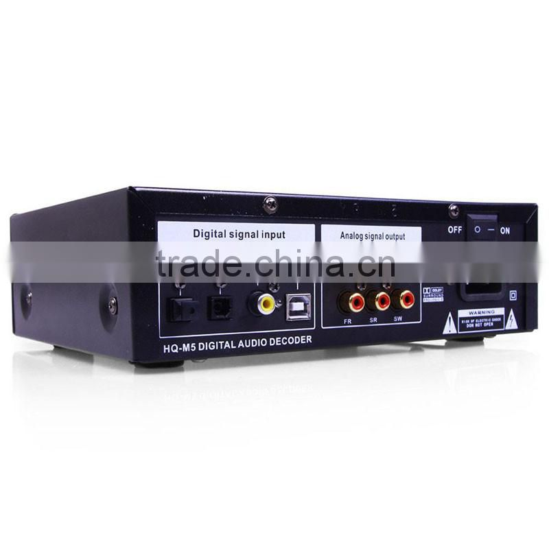 2013 Brand New Upgraded MOCHA HQ-M5 DTS//AC-3 digital audio decoder  220V//110V