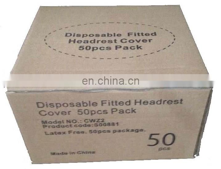 Nonwoven Disposable fitted face rest cover,disposable beauty face rest cover for massage,Disposable Fitted Face Cradle Cover