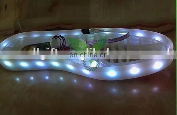 girls light flashing running rechargeable simulation led shoes